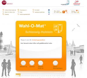 Screenshot der Wahlomat-Homepage(sm)
