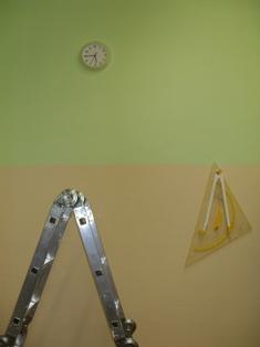 Fertig gestrichen! Wir renovierten unseren Klassenraum