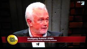 Wolfgang Kubicki bei Absolute Mehrheit (Quelle: selbst erstellter Screenshot der Sendung)