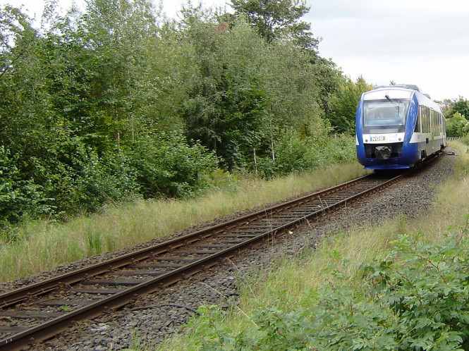 Regionalbahn in Schleswig-Holstein
