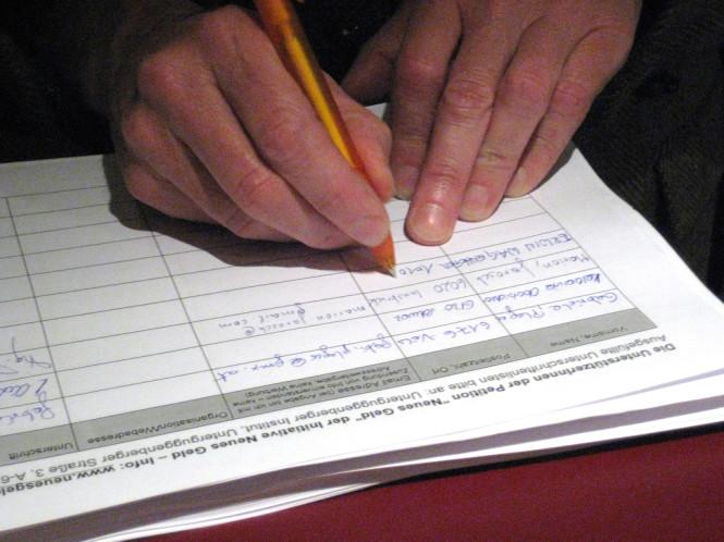 Symbolbild: Petition