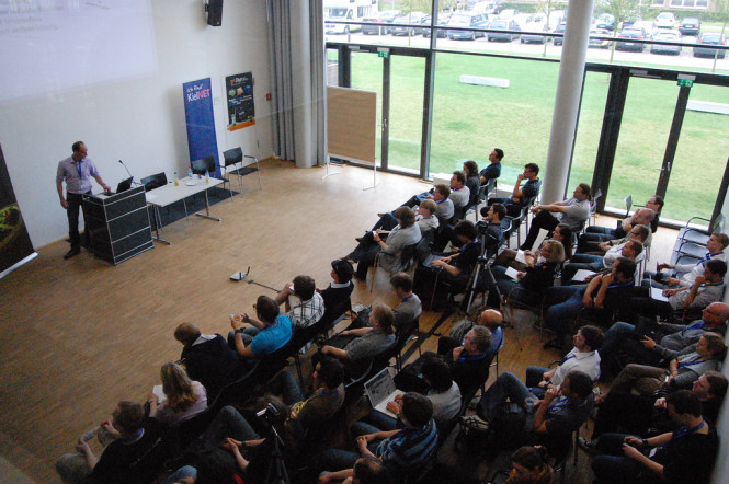 Volles Haus beim BarCamp Kiel