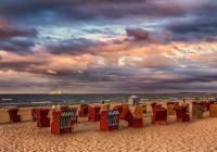 Ostseestrand mit Strandkörben