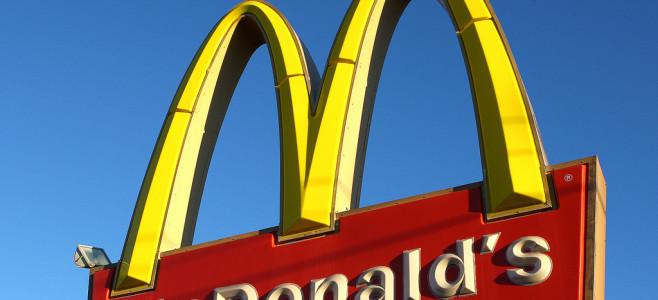 Mc Donald's Schild