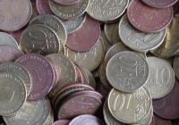 Ein Haufen Kleingeld