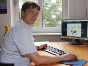 Dr. Mark Lenz, Geomar Kiel