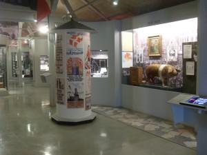"Blick in die Ausstellung ""Dansk i Sydslesvig"""