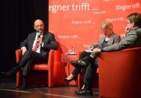 """Martin Schulz in Kiel zu Gast bei """"Stegner trifft..."""""""