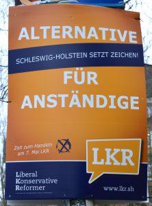 LKR Wahlplakat