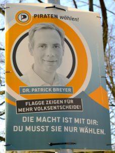 Piraten Wahlplakat